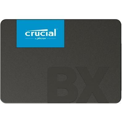 SSD Crucial BX 500, 120GB, SATA, Leitura 540MB/s, Gravação 500MB/s - CT120BX500SSD1