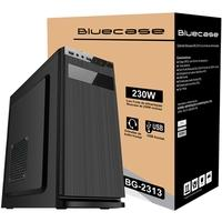 Gabinete Bluecase BG-2313 com Fonte 230W, USB 3.0, Preto - BG2313GCASE