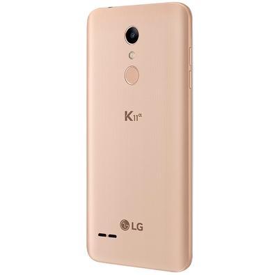 Smartphone LG K11 Alpha, 16GB, 8MP, Tela 5.3´, Dourado - LMX410BTW