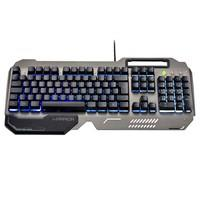 Teclado Gamer Warrior Ragnar, LED, Grafite - TC222