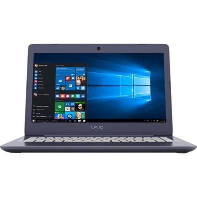 Notebook Vaio C14, Intel Core i3-6006U, 4GB, SSD 128GB, Windows 10 Home, 14´, Azul - VJC141F11X-B1011L