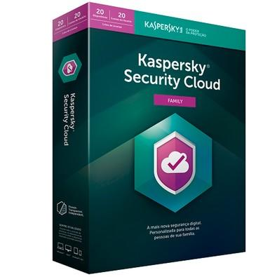 Kaspersky Security Cloud Family 2019 20 PCs