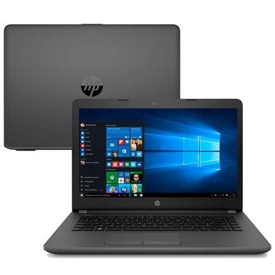 Notebook HP Intel Core i3-6006U, RAM 4GB, HD 500GB, 14´, Windows 10 Home, Preto - 5DZ54LA