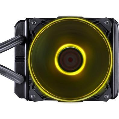 WaterCooler PCYes Nix RGB 120mm, 1 Fan, Preto - PWC120H40PTRGB