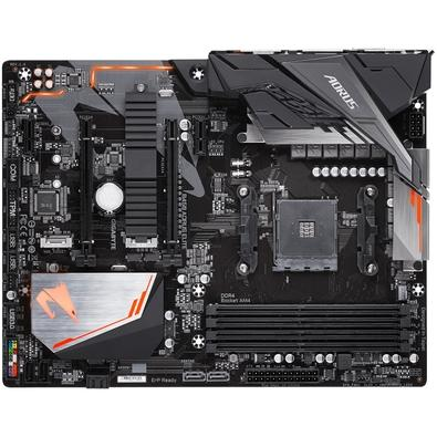 Placa-Mãe Gigabyte B450 Aorus Elite, AMD ATX, DDR4