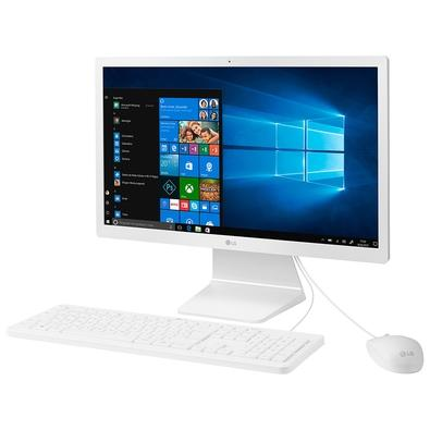 All in One LG Intel Celeron N4000, 4GB, 500GB, 21.5´, Windows 10 Home, Branco - 22V280-L.BJ41P1