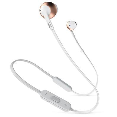 Fone de Ouvido JBL Wireless Bluetooth T205 BT, Rose Gold