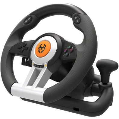 Volante de Jogos NOX Krom K-Wheel para PS4, PS3, Xbox One, PC - NXKROMKWHL