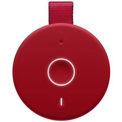 Caixa de Som Bluetooth Ultimate Ears MEGABOOM 3 Portátil e À Prova D´Água - Até 20 horas de Bateria - Vermelha - 984-001400