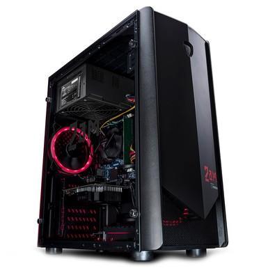 Computador Gamer 2AM Core i5-7400, 8GB, HD 1TB, Windows 10 Home, Powered NVIDIA GTX 1050 Ti - DSK 2AM E500
