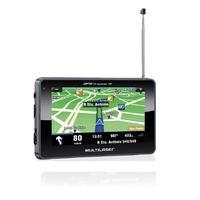 GPS Multilaser Tracker TV Digital LCD 4,3 Pol. Touch FM Tts E-Book - GP034
