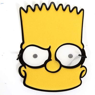 Máscara Bart Simpson