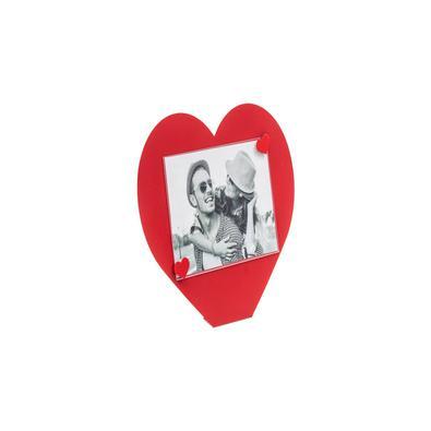 Porta-retrato Coração Vermelho