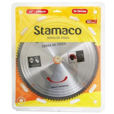 Disco De Serra De Vídea 300mm - 96 Dts Stamaco 300mm