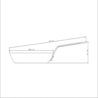 Frigideira Tramontina Profissional de Ferro 26 cm Tramontina