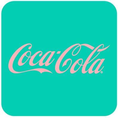 Porta-Copos Coca-Cola Colorido