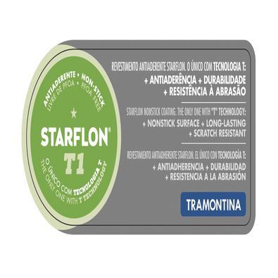 Jogo para Fondue Tramontina Paris Alumínio Revestimento Interno Antiaderente Starflon Vermelho Tramontina