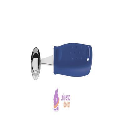Boleador Tramontina Utilitá em Aço Inox com Cabo de Polipropileno Azul 2,9 cm Tramontina