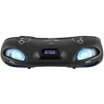 Boombox Philco PBO140BT Bluetooth, USB, Rádio FM Bivolt