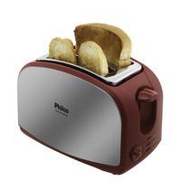 Torradeira, Philco, French Toast Inox, 900W, 127V, Vermelho