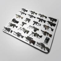 Mousepad Gamer Nerderia, 35x44, Grande, Antiderrapante