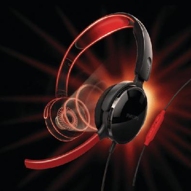 Headset Gamer Philips, Preto - SHG7210