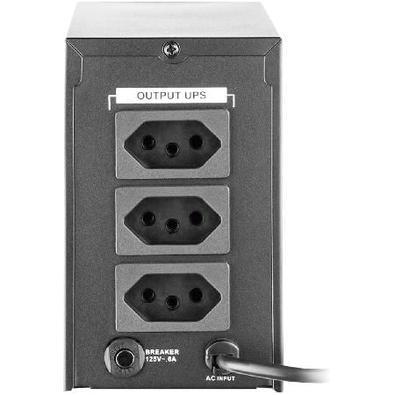 Nobreak Powertek Multilaser 720 VA, 110V, Autonomia 30 Min. - EN034