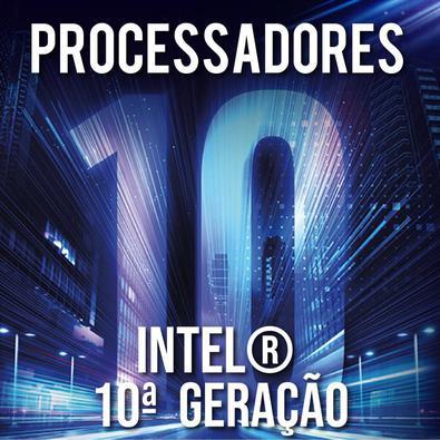 Computador Skill Completo Intel 10ª Geração G5900, Monitor 21.5