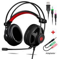 Headset Gamer DIGITAL LED, Preto - MH2