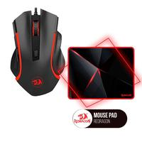 Kit Gamer Mouse Redragon Nothosaur M606 + Mousepad Redragon