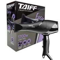 Secador de Cabelo Profissional Taiff Easy - 2 Velocidades, 2 Temperaturas - Cabo 1,8m - Motor AC Profissional - 1700W Vo - 110V
