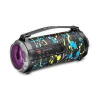 Caixa de Som Pulse Bazooka, 50w, BT/AUX/SD/USB/FM, Led - SP361