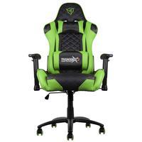 Cadeira Gamer Profissional TGC12 ThunderX3, Suporta até 150Kg, Preto/Verde