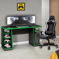 Cadeira Gamer MoobX Thunder Deluxe + Mesa Gamer XP