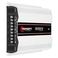 Módulo Amplificador Taramps DS 800X4, 800W RMS, 4 Canais, 200W RMS, 2 OHMS, Classe D - DS 800X4 - 2 OHMS
