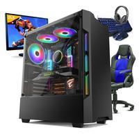 PC Gamer Completo Smart PC, Intel Core I5, 8GB, Geforce GTX 1050TI 4GB, 1TB + Cadeira Gamer - SMT81071