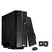 Mini Computador ICC SL2541KM19 Intel Core I5 4gb HD 500GB Kit Multimídia Monitor 19,5 Windows 10