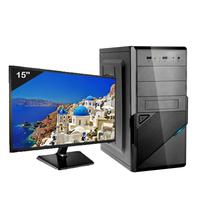 Computador Icc Iv2347swm15 Intel Core I3  4gb Hd 240gb Ssd Hdmi  Monitor Led Windows 10