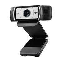 Webcam Logitech HD para Streaming, 30 fps, 1080p, Microfone, Foco Automático - C930e