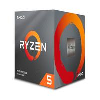Processador AMD Ryzen 5 3600X 3.8 GHz (4.4GHz Max Turbo), DDR4, Socket AM4, 32MB Cache - 100-100000022BOX