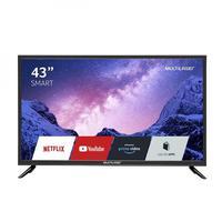 """Smart TV 43"""" Pol. FHD, Com Função, Wifi Integrado - Multilaser Tl027"""