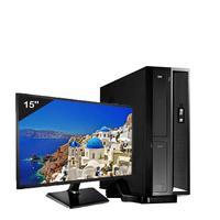 Mini Computador Icc Sl2587sm15 Intel Core I5 8gb Hd 240gb Ssd Monitor 15 Windows 10