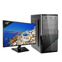 Computador Icc Iv2547swm15 Intel Core I5 3.20ghz 4gb Hd 240gb Ssd Hdmi Full Hd Monitor Led Windows 1