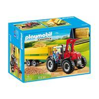 Playmobil, Trator Com Reboque