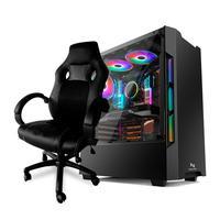 Pc Gamer Neologic, Intel I5-9400f, (gtx 1050ti 4gb), 16gb Ddr4, ssd 240gb, 400w 80 Plus + Cadeira Gamer - Nli82361