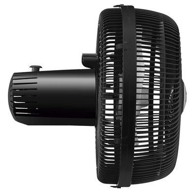 Ventilador De Mesa Turbo Mondial Com 03 Velocidades Preto E Prata - Vt-30-b - 110v