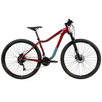 "Bicicleta Mtb Caloi Atacama Feminina Aro 29, 17"", 27 Velocidades, Vinho"