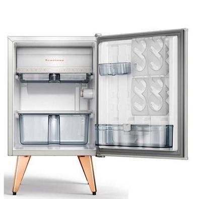 Frigobar Brastemp Retrô Com 76 Litros De Capacidade E Controle Automático De Temperatura Ice White - Bra08bb - 110v