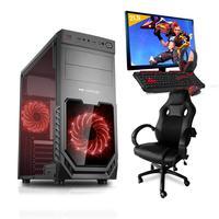 Pc Gamer Completo Smart Pc, Intel I5, 8gb, (geforce Gtx 1650 4gb), 1tb + Cadeira Gamer - Smt81293