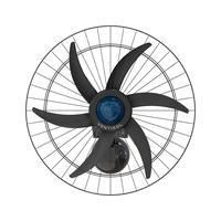 Ventilador De Parede Oscilante 60cm Stell Ventisol Bivolt Bivolt